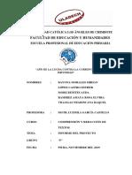 Informe Del Proyecto de Musica - Comprension (BAYRON)