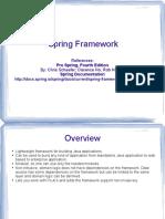 Spring Framework Notes