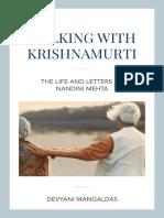 Walking With Krishnamurti E Book