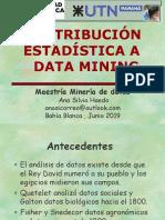 Contribucion Estadistica a Data MiningBahia Blanca