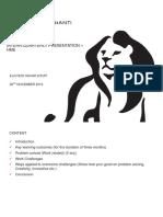 Interns Quarterly Presentation- template [Autosaved].ppt