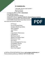 CentOS 7 Installation Doc(1)
