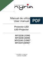 Proiectoare Manual A5