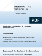 IMPLEMENTING  THE     CURRICULUM.pptx