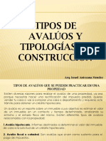 TIPOS DE AVALUOS