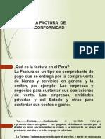 Presentación 2- EXPOSICIÓN -FACTURA CONFORMADA..pptx