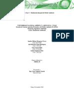 Unidad 2 Fase 3 Modelacion Integral Del Medio Ambiente (1)