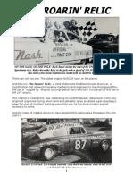 Griffin Motors Racing presents...The Roarin' Relic