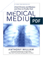 [2015] Medical Medium by Anthony William | Secrets Behind Chronic and Mystery Illness and How to Finally Heal | Hay House Inc.