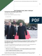 A 'Limusine Comunista' Forrada de Ouro, Joias e Seda Que Transportou Bolsonaro Pela China - BBC News Brasil