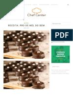 Receita_ Pão de Mel Do Bem - Chef Center BlogChef Center Blog