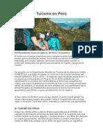 Turismo en Perú.docx