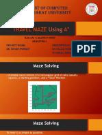 Travel Maze Using A