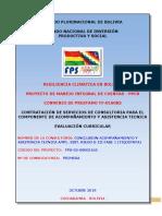Convocatoria Original Fps Tiquipaya