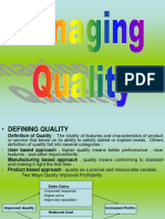 4. Managing Quality