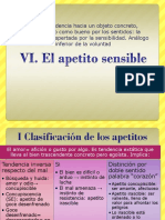 VI-VII El Apetito Sensible