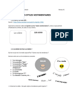 Styles Vestimentaires a1 1