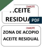 Rotulo de Areas