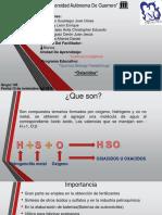 Oxiacidos nomenclaturas