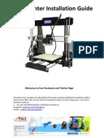 A8 3D Printer Installation Instructions.pdf