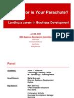 Landing Your Career in Business Development