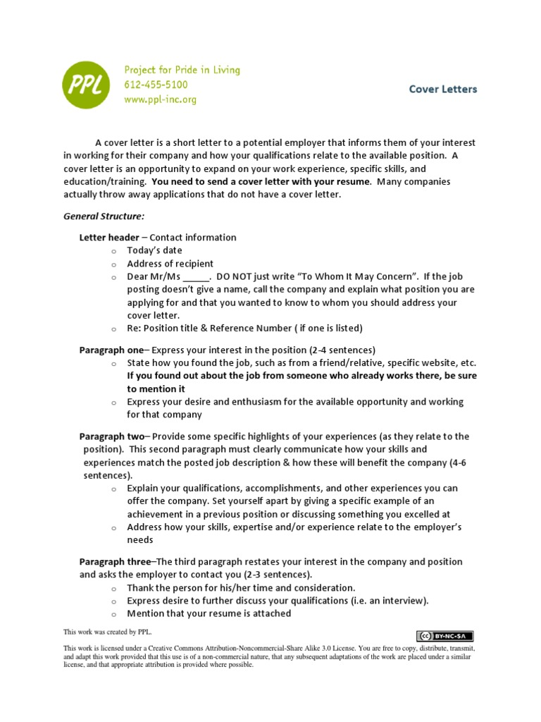 Cover Letter Template And Sample Resume Psychological Concepts