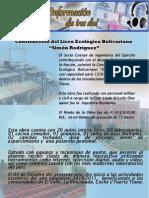 """Construcción del Liceo Ecológico Bolivariano """"Simón Rodríguez"""""""