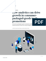 MKTG How Analytics Can Drive Growth in Consumer Packaged Goods Trade Promotions