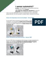 Sensores Automotriz