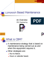 Condition Based Maintenance Overview