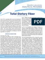 Dietary Fiber Web