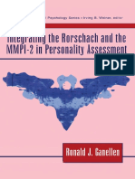(Personality & Clinical Psychology Series) Ronald J. Ganellen - Integrating the Rorschach and the MMPI-2 in Personality Assessment-Routledge (1996).pdf