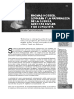 Maria Griselda Gaiada - Thomas Hobbes, Leviatán y la Naturaleza de la Guerra. Guerras Civiles y de Conquista.pdf