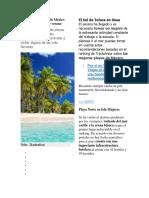 Las Mejores Playas de México Para Vacacionar