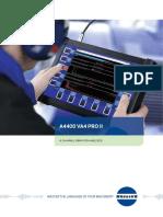 Adash A4400 VA4 Pro II Data Sheet vibraciones Programa