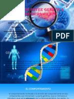 Relación Entre Genética y Comportamiento