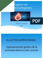 Regirtro de Electrocardiogrma