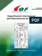 Especificación Internacional para Descripciones de Control de la Federación Internacional de Orientación