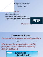 Final Perceptual Er