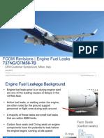 20. 7B_Engine Fuel Leaks FCOM Revision_CFM Symposium 2017
