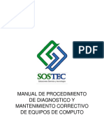 Manual Diagnostico y Mantenimiento Corr de Eq de Computo