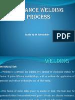 Advanced Welding Process (Welding)