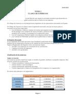 Tema 2 (Clases de Empresas)