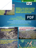 PESERA-L, The Shallow Landslides Contribution to Specific Sediment Yield (SSY), As Extensions of the PESERA Soil Erosion Model Vers 2
