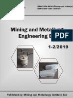 mining and metallurgia