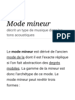 Mode Mineur — Wikipédia