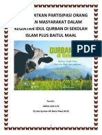 Meningkatkan Partisipasi Orang Tua Dan Masyarakat Dalam Kegiatan Idul Qurban Di Sekolah Islam Plus Baitul Maal