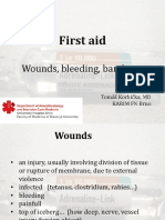 3. First Aid - Wounds Bleeding Bandages