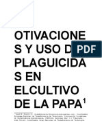 Plaguicidas Cultivo Papa