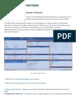 Blue Sheet Overview